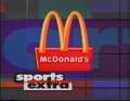 WUAB 43 McDonald's Sports Extra 1994 b