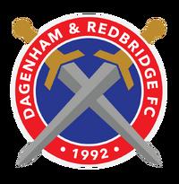 Dagenham and Redbridge FC logo (introduced 2014).png