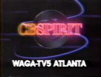 WAGA-TV 5 CBSpirit Oh Yes 1987