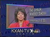 1990 KXAN 36 Oprah ID