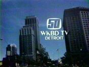WKBD-TV's Channel 50 ID From Early 1978