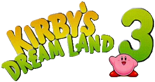 Kirby's Dream Land 3 logo.png