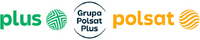 Grupa Polsat Plus with Polsat and Plus logo
