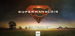 Superman and Lois promo logo