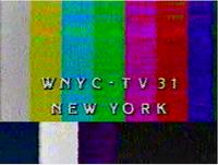 WNYC 31 Testcard