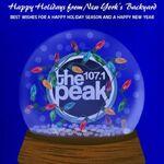 WXPK-FM's 107.1 The Peak's Happy Holidays Promo From December 2011.jpg
