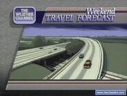 Weekend travel forecast90