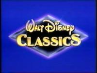 1992 Walt Disney Classics muffled logo