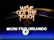 CBS-TV27s We27ve Got The Touch With WCPX-TV Orlando Byline - Late 1983
