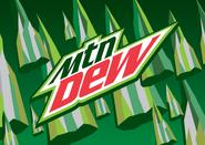 New Mountian Dew logo