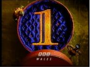 BBC1 Wales Christmas ident 1996