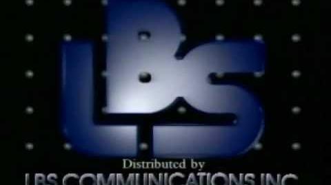 LBS Communications Distribution logo (1989)