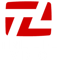Time Life Video Print Logo (White)