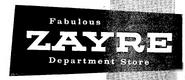 Zayre - 1956 -June 8, 1959-