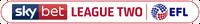 Sky Bet League Two 2018-19 Linear version