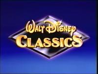 1988 Prototype Walt Disney Classics logo