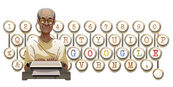 Google Pramoedya Ananta Toer's 92nd Birthday (Version 2)