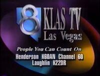 KLAS-TV Las Vegas ID 1992