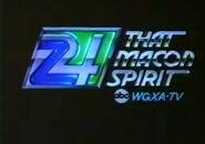 WGXA-TV Logo - 1983.