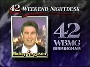 42 Weekend Nightdesk Mickey Fergerson 1990