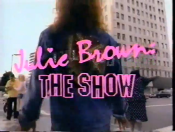 Julie Brown The Show title card.png