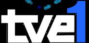 Logo TVE--1 (1982-1991) sin rombo