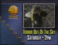 WUAB 1989 - TERROR OUT OF THE SKY ID!