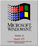 Windows NT 3.1 Build 475