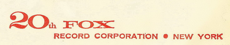 20th Century Fox Records