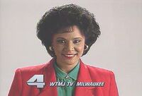 WTMJ-TV's Newschannel 4 At 10's Carole Meekins Video ID From November 1991