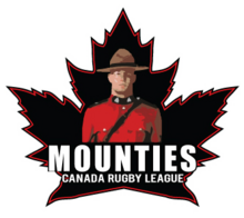 Canada rugby league team mounties logo 2010.png