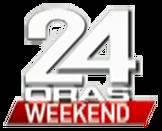 24 Oras Weekend Logo 2016 (displayed on Lower-third graphics)