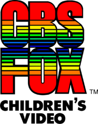 CBS Fox Children's Video 1984 print logo.png