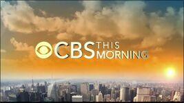 CBS This Morning 2014