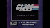 KDAF GI Joe PSA (September 1994)