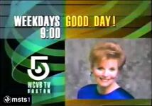 WCVB-TV 5 Good Day Promo March 26, 1990