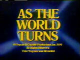 """""""As The World Turns"""" Close From 1990"""