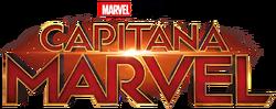CaptainMarvel Spanish logo