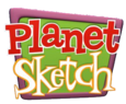 Planet Sketch Logo (Season 1)