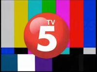 TV5 logo on screen bug 2010