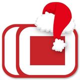 Diez MDP (Logo navideño)