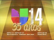 Kdtv univision 14 35 anos id 2010