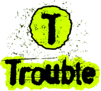 Trouble logo 1997.png