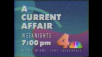 WTVJ A Current Affair (1989)