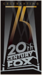 20th century fox 75th anniversary logo