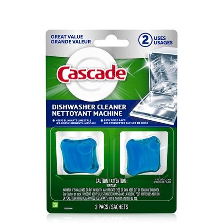 Cascade Dishwasher Cleaner, Fresh Scent