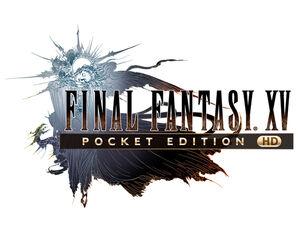 FFXV Pocket Edition HD logo