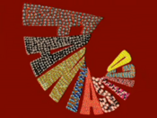 Fantástico 2012 special logo by Nelson Leirner for episode 2000