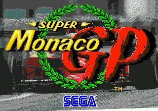 Super Monaco GP (Video Game)