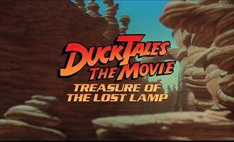 DuckTales the Movie Treasure of the Lost Lamp, in film.JPG